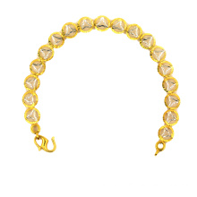 Gelang K Gold Electroplated Silver & Gold Color